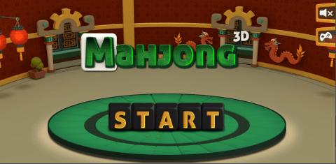 Bild Mahjong 3D