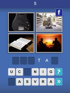 Bild 4 Pix Word Quiz