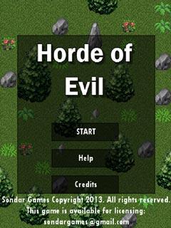 Bild Horde of Evil