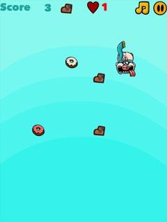 Bild I eat Donuts