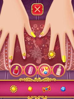 Bild Nail Salon - Marie's Girl Games